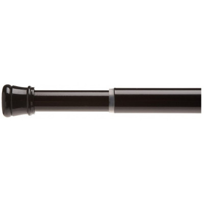 Карниз для ванной комнаты 104-190 см Carnation Home Fashions Standard Tension Rod Black TSR-16